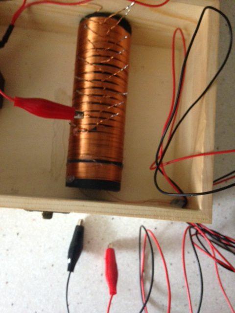 bobina para radio de galena
