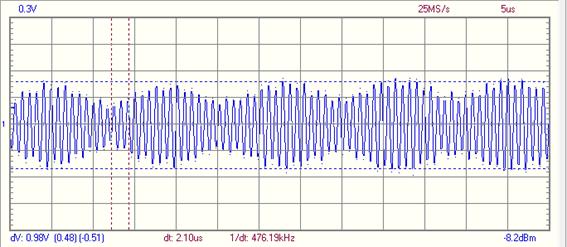 Salida bobina secundaria en radio de galena