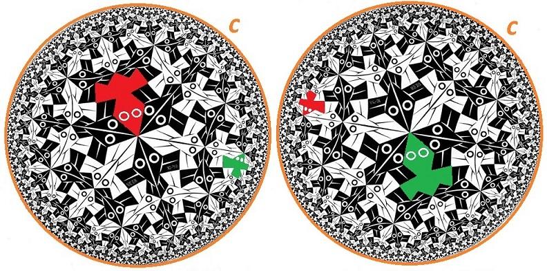 Relatividad Especial: Escher